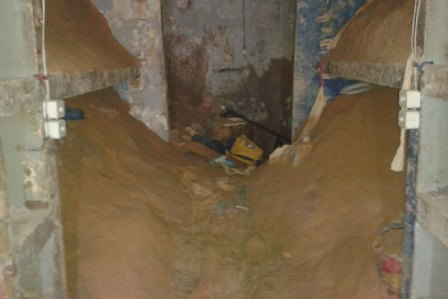 Túnel foi descoberto nessa sexta (20) Divulgação/Sindasp