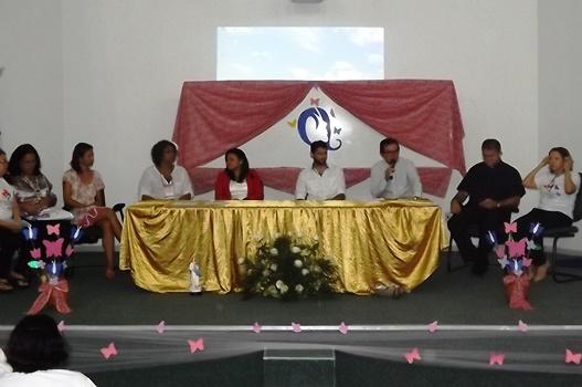 Padre Bianor abre o Seminário de Mulheres