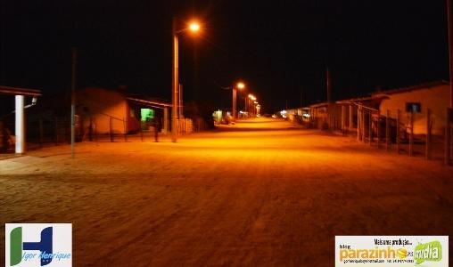 Assentamento Pereiros ganha iluminação pública