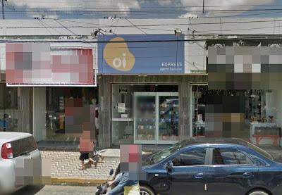 Loja alvo de assalto em Assu (Foto: Focoelho)