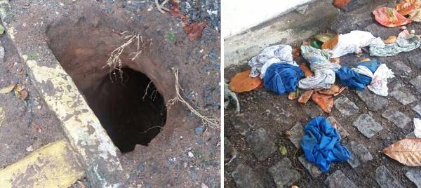 Presos fogem através de túnel na CDP da Ribeira (Fotos: notícias do face)