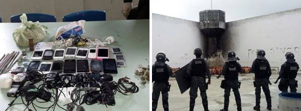 Agentes Penitenciários fazem intervenção no Raimundo Nonato