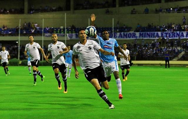 O ABC não conseguiu superar a marcação do CSA e ainda sofreu três gols na estreia da Copa do Nordeste.