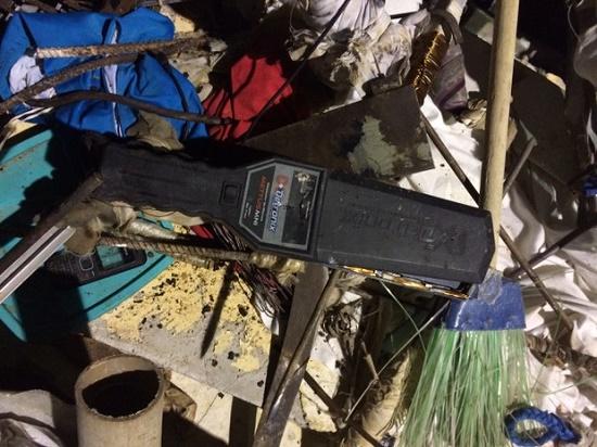 Material apreendido pela Polícia em Alcaçuz