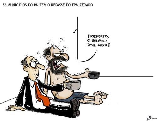 Charge de Brumm (Tribuna do Norte)