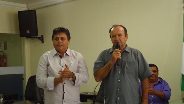 Prefeitos Maurício (João Câmara) e Assis (Touros)