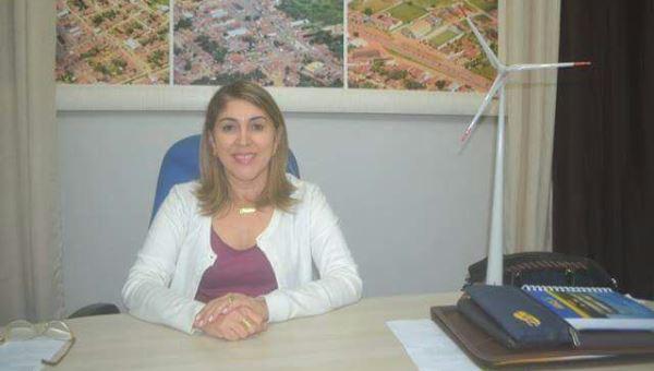 Prefeita Rita de Luzier (Foto: MArco Montoril)