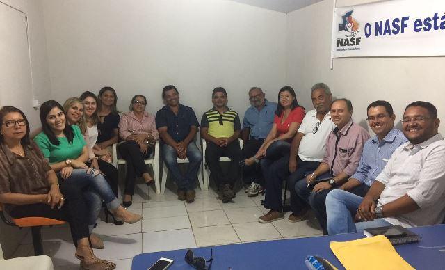 Prefeita Rita de Luzier reunida com secretariado avalia 1º mês de governo