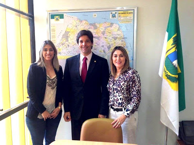 Prefeita Marina Marinho Jandaíra, Deputado Federal Felipe Maia (DEM), Prefeita Rita de Luzier