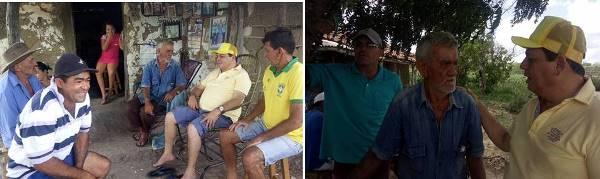 Visita do prefeito Maurício a Lagoa de São josé