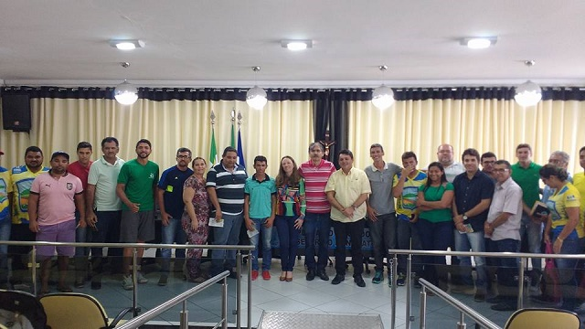 Encontro regional de secretários municipais de esportes em João Câmara