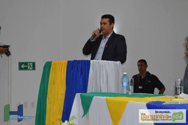 Prefeito de Caiçara do Norte, Amarildo Elias (Amarildinho) Foto: Igor Henrique // Blog Parazinho na Mídia