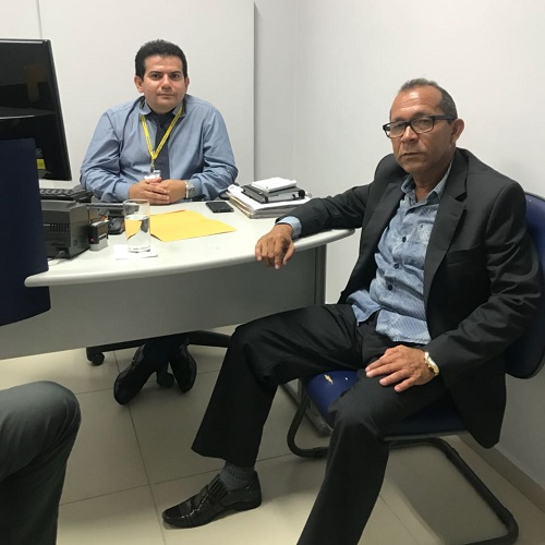 Resultado de imagem para João Câmara: Prefeito Interino Daniel trata da reabertura do BB com gerente
