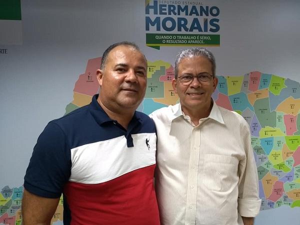 Resultado de imagem para Hermano recebe apoios em Lagoa Nova, Elói de Souza e Pedro Avelino