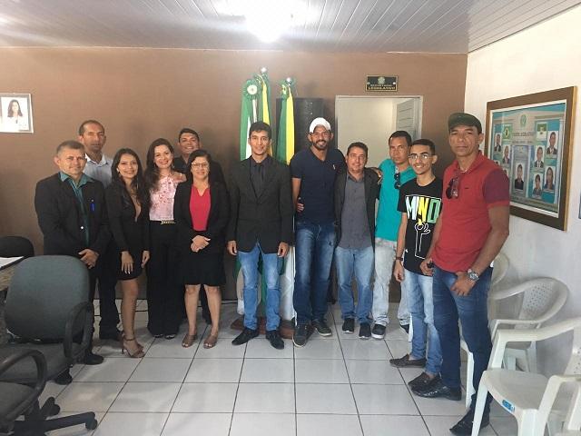 Resultado de imagem para Jardim de Angicos: Vereador Souza toma posse na presidência da Câmara municipal