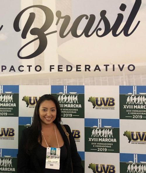 Resultado de imagem para João Câmara: Vereadora Aize Bezerra participa da Marcha dos Vereadores em Brasília