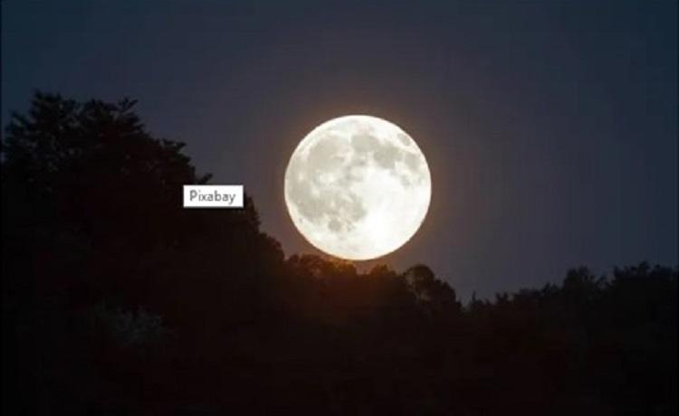 A próxima Lua cheia em uma sexta-feira 13 será em dezembro deste ano. Foto: Pixabay