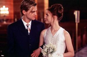 Romeo + Julieta. Películas de Bodas.