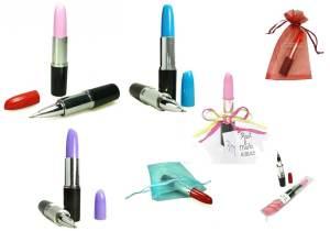 El mejor regalo: bolígrafo con forma de pintalabios