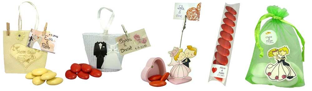 Peladillas, un regalo dulce para tus invitados de boda.