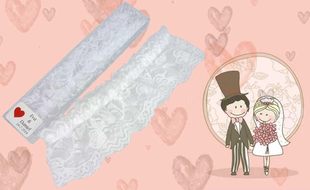 Ligas para regalar el día de tu boda
