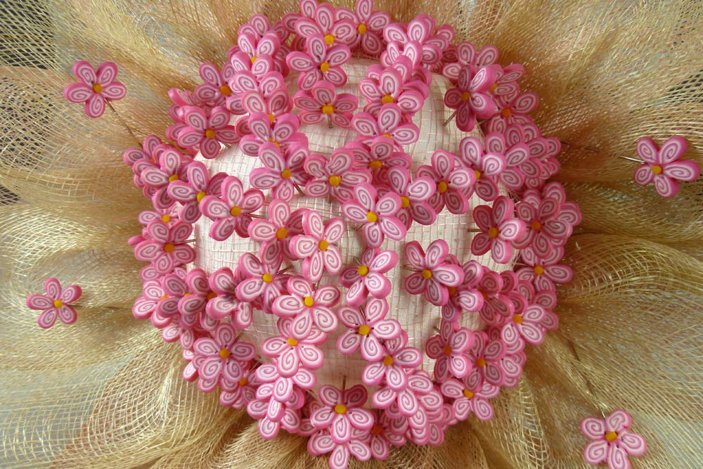 Alfileres en Bouquet