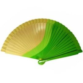 Abanicos Verdes para Invitadas de Boda