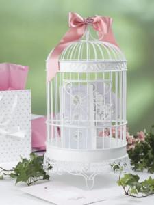 Jaula decorativa para bodas