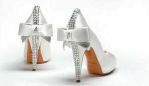 Zapatos con brillantes