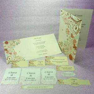 Diseño Retro para bodas