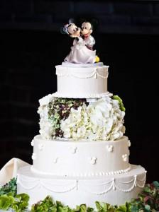 Figuras de Disney para pastel de bodas
