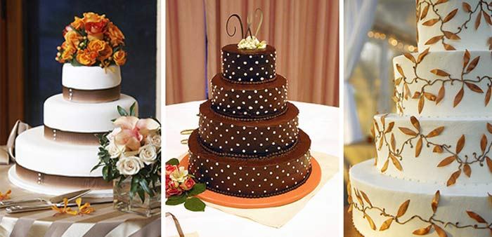 Tartas de bodas de varios pisos