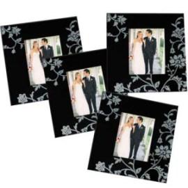 Posavasos de bodas con foto