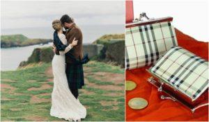 ¿Quieres una boda a la escocesa? Estos monederos son ideales para regalar.
