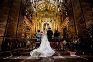Boda por la Iglesia. Fotografía de Daniel Salvador.