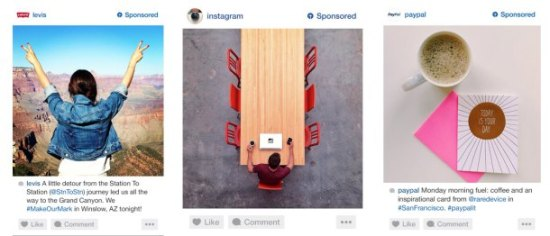 Ejemplos de publicidad en Instagram,