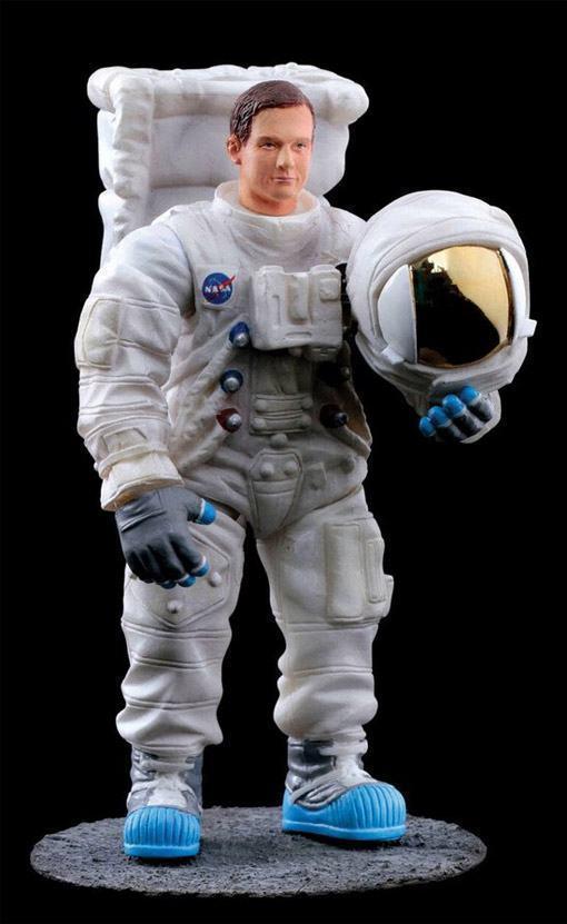 Action Figures Astronautas do Programa Apollo em Escala 375  Blog de Brinquedo