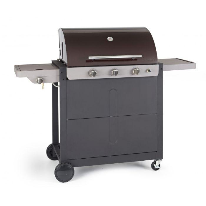 Gratar pe gaz Barbecook, Brahma 4.0 ceram, 3 arzatoare, 15kW