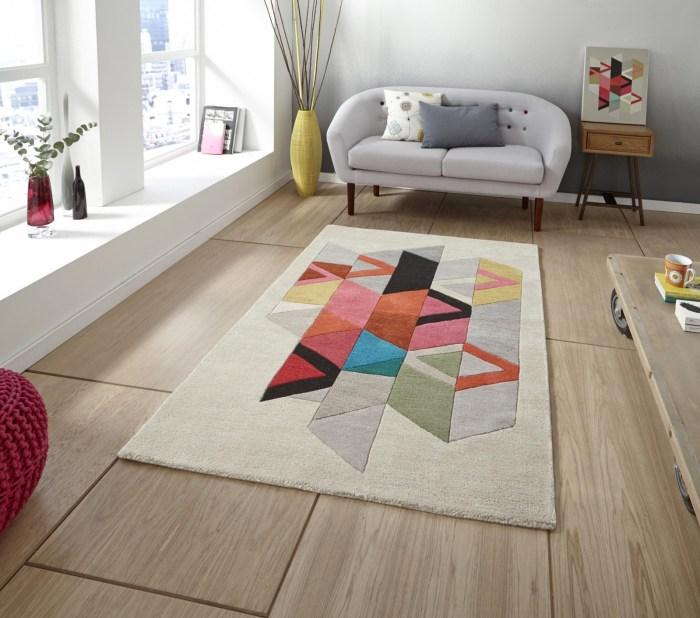 covor modern multicolor