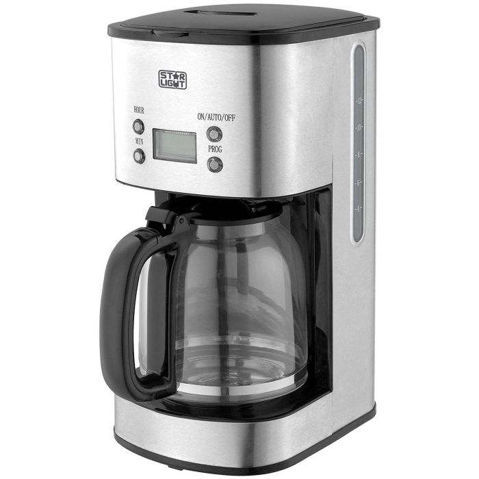 Cafetiera Star-Light CTD-612SS, 1000 W, 1.5 l, Inox