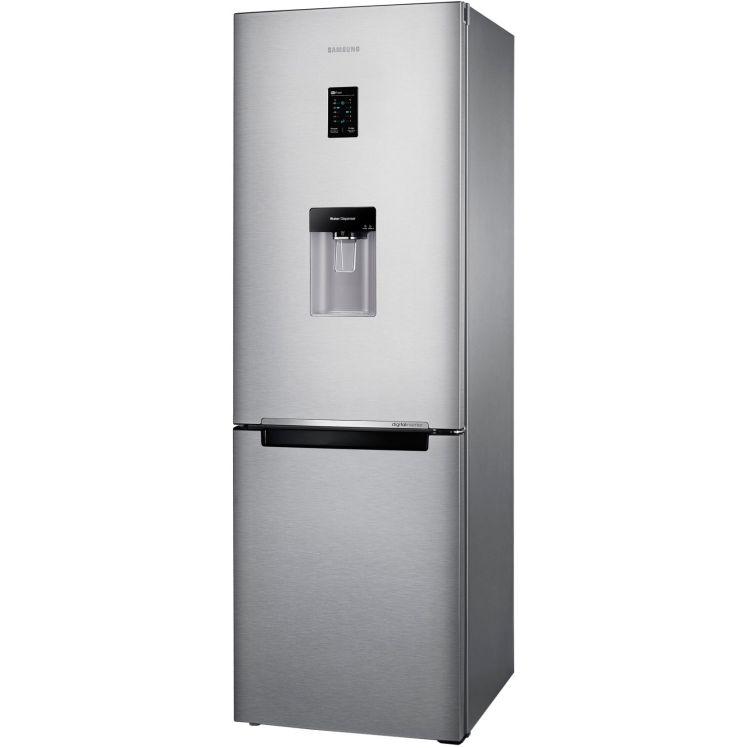 Combina frigorifica Samsung RB31FDRNDSA, 310 l, Clasa A+, Full No Frost, H 185 cm, Argintiu