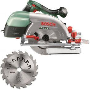 Fierastrau circular Bosch PKS 55 A IS, 1200 W, 55 mm, 5600 RPM, disc 160 mm + 1 accesoriu