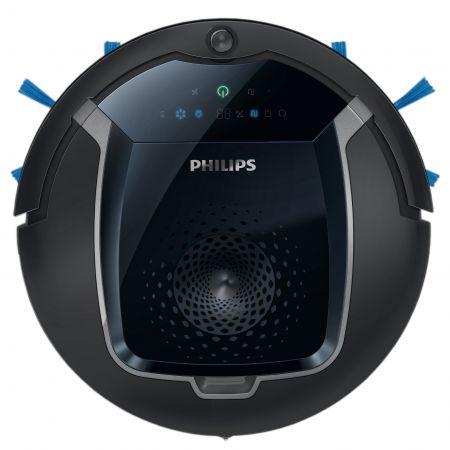 Robot de aspirare Philips SmartPro Active FC8810/01, 0.4 l, 3 trepte, Negru