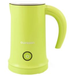 Aparat de spumare a laptelui Oursson MF2005/GA, spumare si/sau incalzire lapte, acoperire antiaderenta, oprire automata, verde