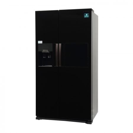 Side by side Samsung RS7778FHCBC, 543 l, Clasa A++, Full No Frost, H 178.9 cm, Negru