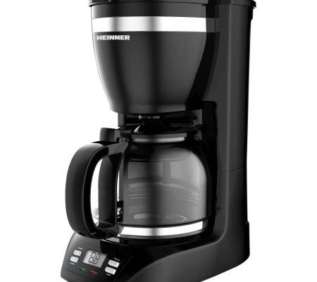 Cafetiera Heinner Savory HCM-1100D, 900 W, 1.5 l, Negru
