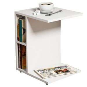 Masuta cafea Ceylin 35 x 45 x 57.5 cm, alb
