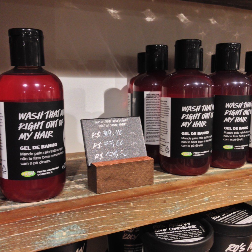 Wash That Man Right Out Of Your Hair lush resenha