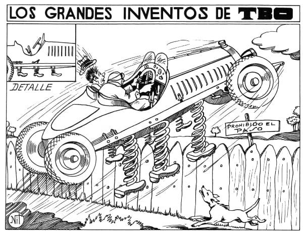 100 años tbo inventos tbo
