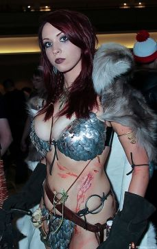 Cosplay Red Sonja 08